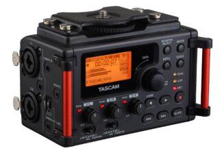 Tascam DR-60DmkII 4 Track Recorder SLR