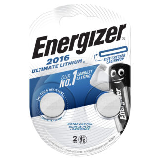 Energizer CR 2016 Ultimate Lithium 2 St.