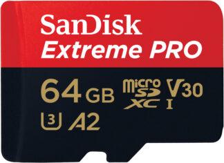 SanDisk ExtremePro microSD 170MB/s 64GB