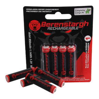 Berenstargh AAA Micro 4pc Ni-Mh 950mAh