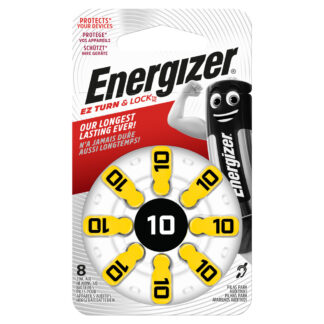 Energizer EZ Turn & Lock 10 1.4V 8-Pack