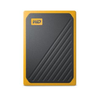 WD My Passport Go SSD 2TB yellow