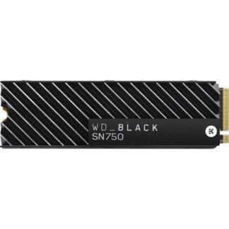 WD Black SN750 NVMe SSD Heatsink 500GB