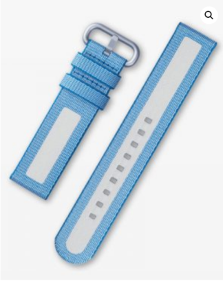 Samsung Active textile Band 20 mm l.blue