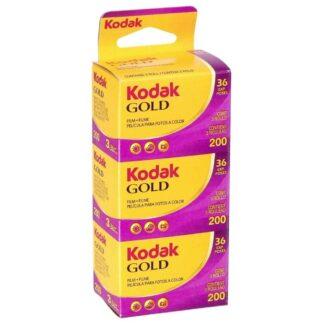 Kodak GOLD 200  GB 135-36      3-Pack